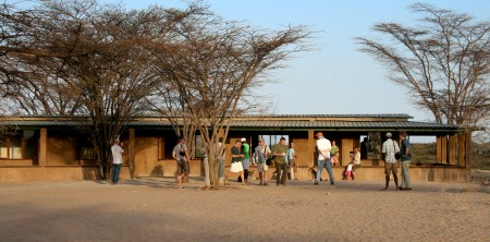 TBI's Turkwel research facility, host to the Tenth Stony Brook University Human Evolution Workshop.