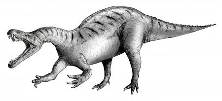Sketch of Suchomimus