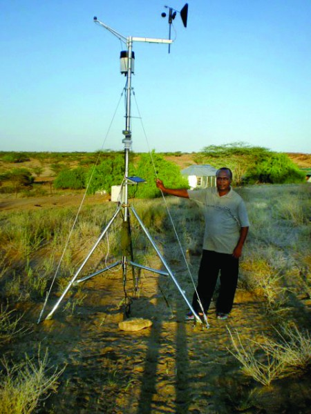 Weathervane at TBI-Turkwel