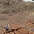 Dr. Matt Skinner walks the outcrop