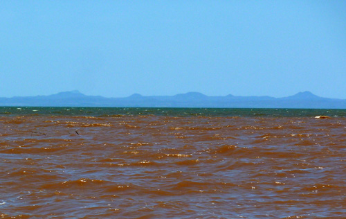 View across Lake Turkana