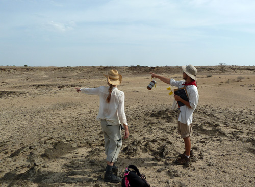 Rob and Janina discuss their strategy for finding fossils