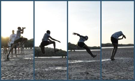 Abdi's winning jump.