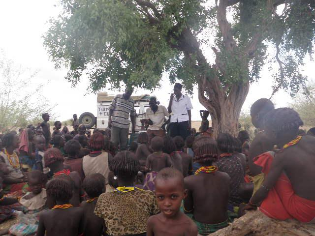 Educating people on general health issues in Ilgele village