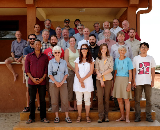 Meeting participants at the 11th Human Evolution Workshop