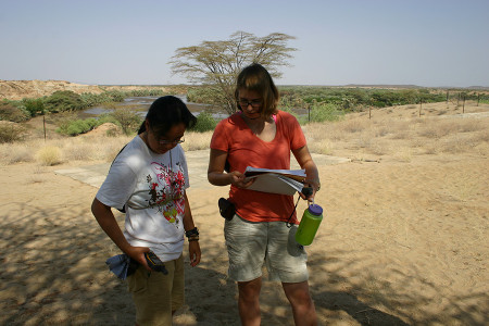 Sam and Kate check their GPS data. In this assignment they will compare their height measurements with GPS and GoogleEarth.
