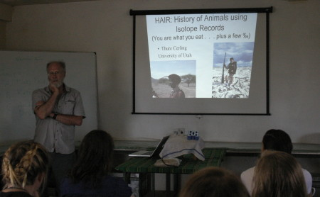 Dr. Cerling's lecture on HAIR