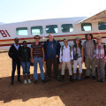 First flight- arrival to Mpala Ranch