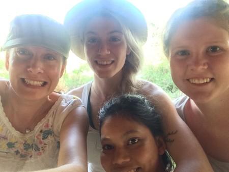 Milena, Kait, Maddie, and Adriadne.