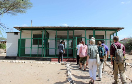 "The TBI students first visit ""Kenyatta House"". This was the prison where Kenya's first president, Jomo Kenyatta, was held during the Mau Mau revolution (an anti-colonial movement on the path to Kenya's independence from its British rulers)."