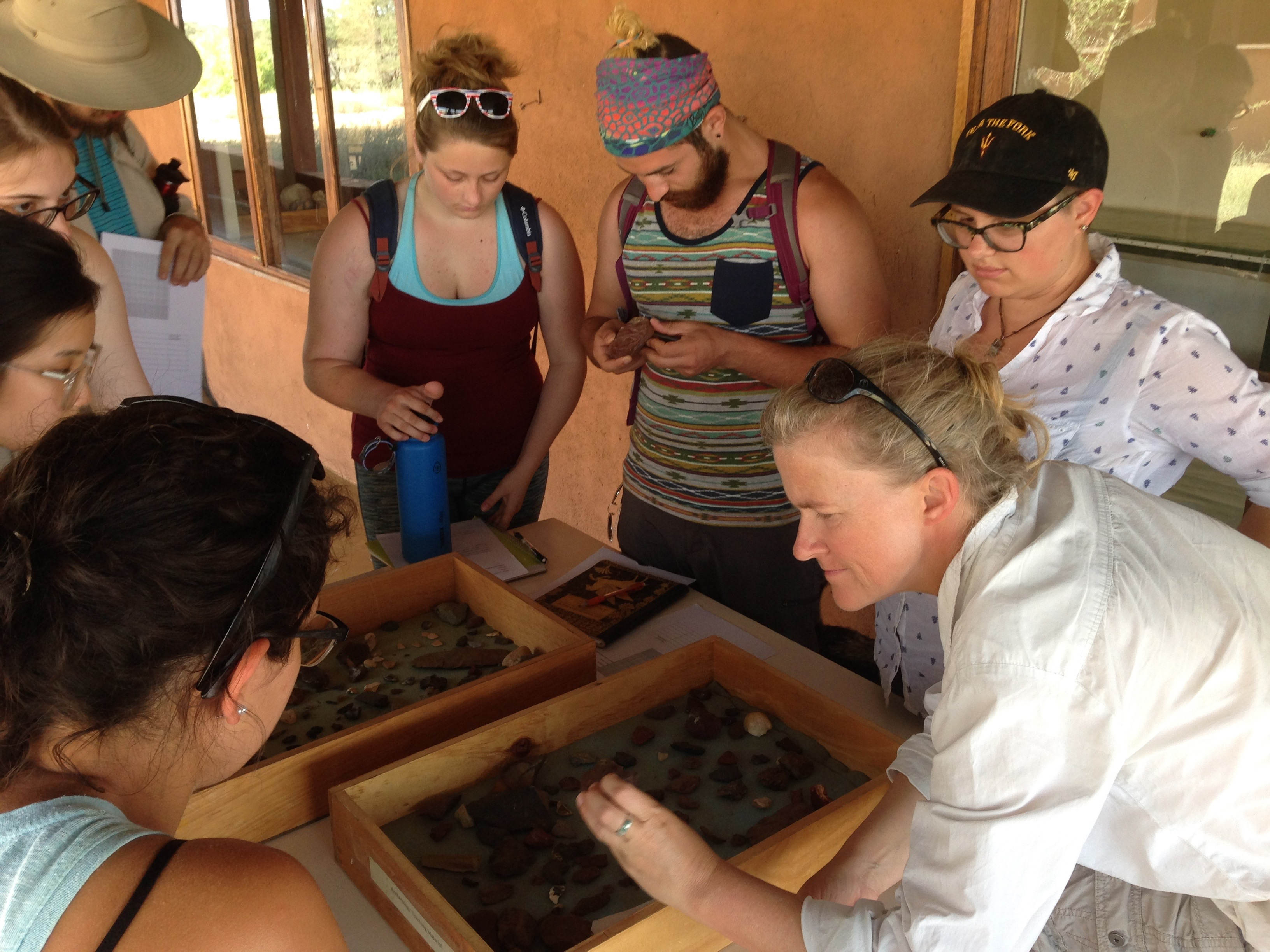 Stones, sediments, and artifacts – archaeology has begun!