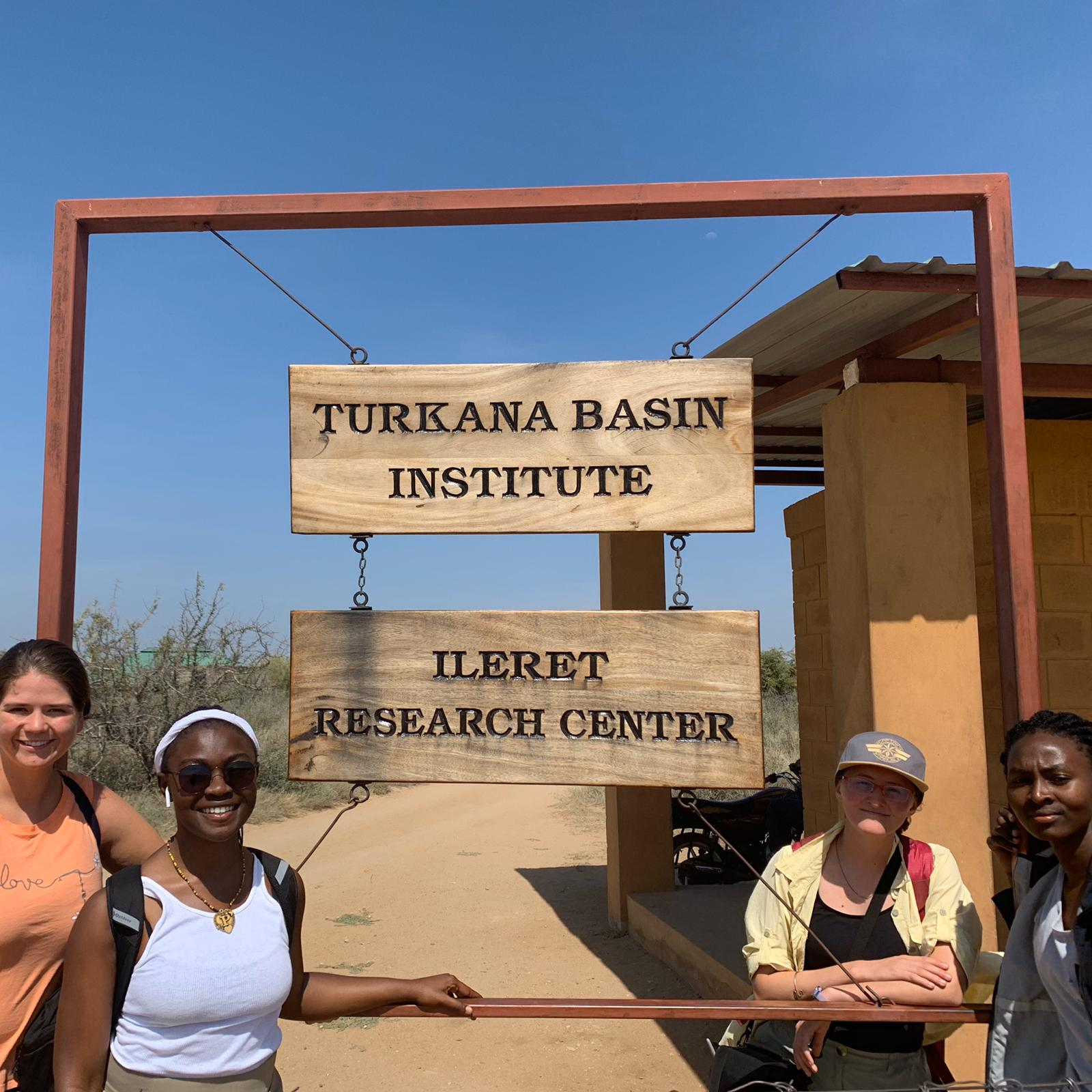 Finishing up the Ecology module at Mpala