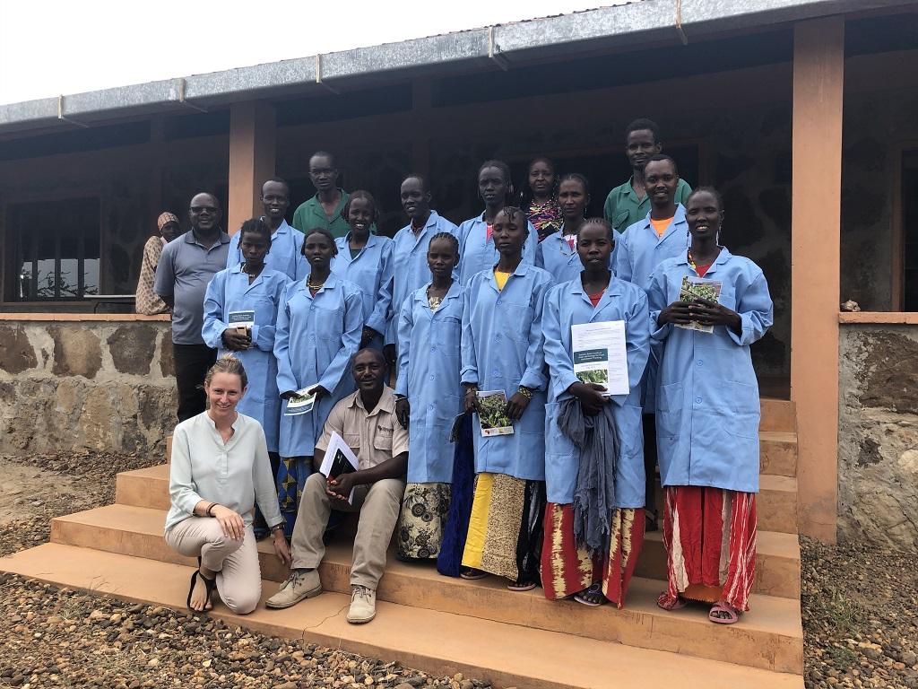 Training in Hydroponic Farming in Ileret